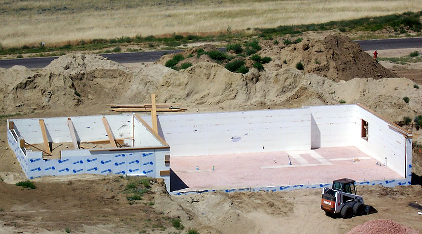 building a custom home in wyoming