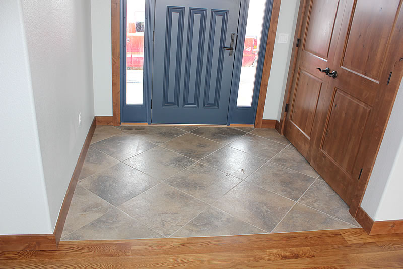 Custom Tile Entry Way