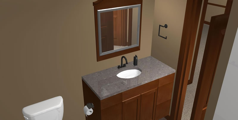 Basement Bathroom Design