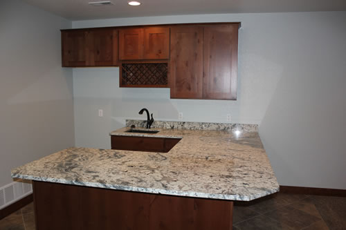 finish your basement with custom contracting llc